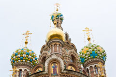 Orthodoxy temple in Petersburg Stock Images
