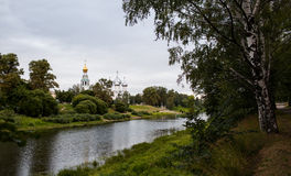 Orthodoxy temple in Vologda Stock Images