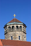Orthogonal church tower Royalty Free Stock Photos