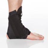 Orthopedic ankle brace. On white background Stock Photography
