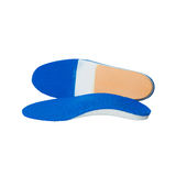 Orthopedic insoles on white background Stock Images