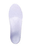 Orthopedic insoles on white background. Orthotics on a white background. Insert in shoes to support the foot royalty free stock images
