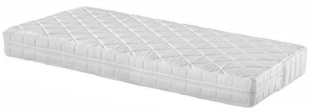 Orthopedic mattress. Isolated stock photography