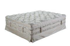 Orthopedic mattress. Isolated on white Stock Photography