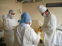 Orthopedic operation Stock Photo