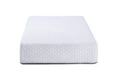Orthopedic soft mattress for sleeping isolated on white background Royalty Free Stock Photos
