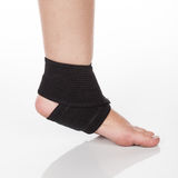 Orthopedic support for ankle Stock Image