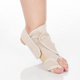 Orthopedic support for ankle stock photo