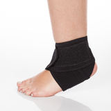 Orthopedic support for ankle stock photos