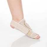 Orthopedic support for ankle stock images