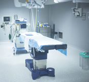 Orthopedics surgery hospital operating room bed Royalty Free Stock Photos