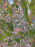 Orthorectified aerial image Royalty Free Stock Images
