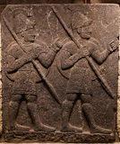 Orthostats of Heralds Wall in Museum of Anatolian Civilizations, Stock Image