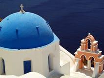 Orthox希腊教会 库存图片