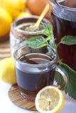 Ortica e tè dell'ortica Immagine Stock Libera da Diritti