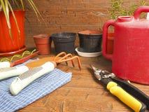 Orticoltura favorita di hobby di vista Fotografia Stock Libera da Diritti