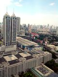 Ortigas, pasig, mandaluyong and makati skyline Royalty Free Stock Image