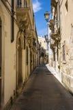 Ortigia Alley, Syracuse, Sicily, Italy Stock Photography