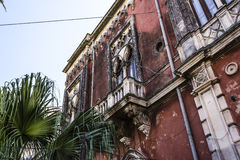Ortigia Alley, Syracuse, Sicily, Italy Royalty Free Stock Images