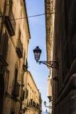 Ortigia Alley, Syracuse, Sicily, Italy Royalty Free Stock Photos