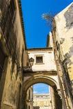 Ortigia Alley, Syracuse, Sicily, Italy Stock Images