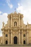 Ortigia de la bóveda de la catedral de Syracuse Imágenes de archivo libres de regalías
