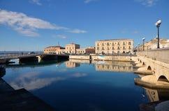 Ortigia island in Syracuse, Sicily Stock Photos