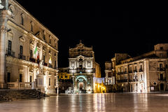 Ortigia, Italie Photo stock