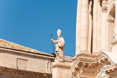 Ortigia main cathredal Royalty Free Stock Photo