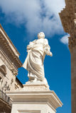 Ortigia main cathredal. In Siracusa city in Italy Stock Photo