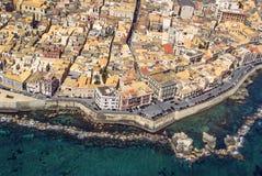 Ortigia, Siracusa, Sicília Foto de Stock