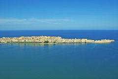 Ortigia, Siracusa, Sicília Fotografia de Stock