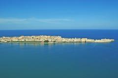 Ortigia Syracuse, Sicilien Arkivbild