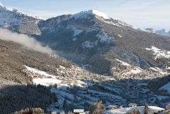 Ortisei, the Dolomites, Northern Italy Stock Images