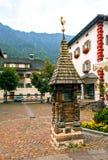 Ortisei in Val Gardena (Italia) Immagine Stock