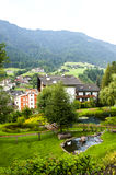 In Ortisei in Val Gardena (Italy) Royalty Free Stock Photography