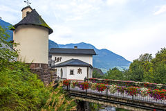 Ortisei in Val Gardena (Italy) Stock Images