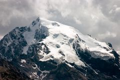Ortler - the highest mountain in the Eastern Alps Stock Image