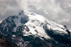 Ortler - l'più alta montagna nelle alpi orientali Immagine Stock