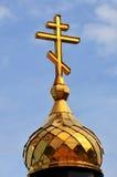 Ortodoksa krzyż Fotografia Royalty Free