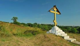 Ortodoksa krzyż Zdjęcia Stock