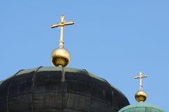 Ortodoksalna iglica Zdjęcia Stock