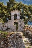 Ortodoksalna kaplica w Weneckim fortecy Fotografia Royalty Free