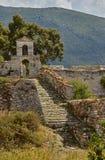 Ortodoksalna kaplica w Weneckim fortecy Agia Maura Zdjęcie Stock