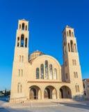 Ortodoksalna katedra w Paphos, Cypr Fotografia Stock