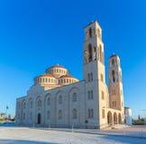 Ortodoksalna katedra w Paphos, Cypr Obrazy Stock