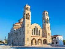 Ortodoksalna katedra w Paphos, Cypr Zdjęcia Royalty Free