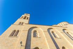 Ortodoksalna katedra w Paphos, Cypr Obraz Royalty Free