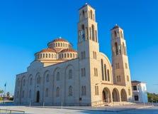 Ortodoksalna katedra w Paphos, Cypr Obraz Stock