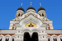 Ortodoksalna katedra w Tallinn Obrazy Royalty Free